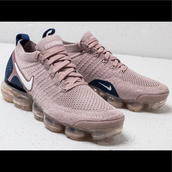 f9ebe67906 Nike Shoes | Air Vapormax Flyknit 2 Taupe Pink Color | Poshmark